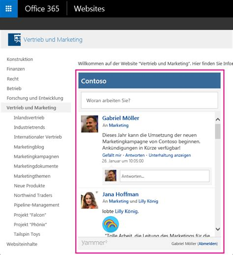 Office 365 Trust Portal Office 365 Bekommt Yammer Integration Silicon De