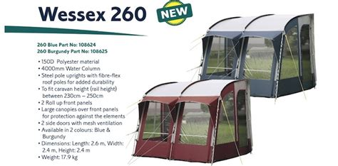 Awnings On Ebay by Caravan Porch Awnings On Ebay 20 Images Ambassador Awning Size 13 Or 7 800cm With Sunnc
