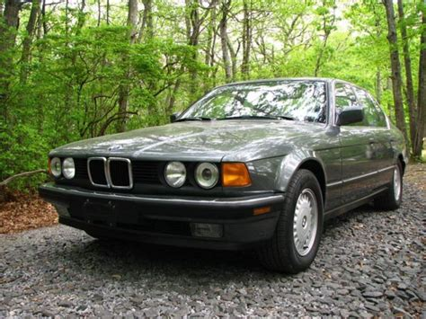 1988 Bmw 735i 1988 Bmw 735i 5 Speed With 40k German Cars