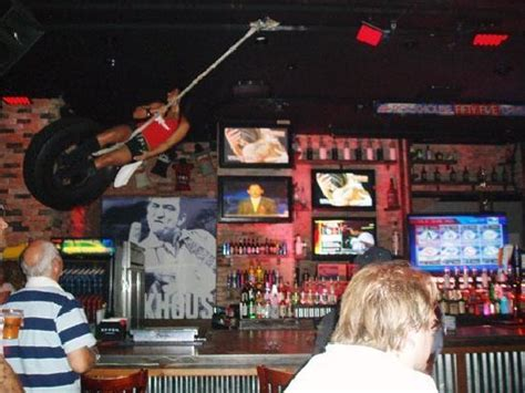 swinging barmaids rockhouse bar in las vegas picture of rockhouse bar