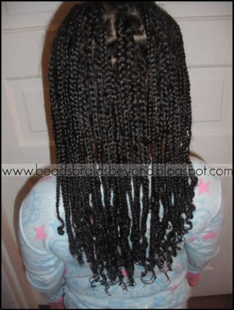 box braids for little girls beads braids and beyond braided box braids for the curly