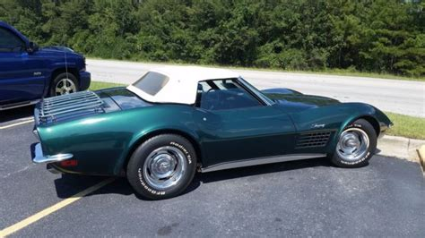 corvette stingray green 1971 corvette stingray green