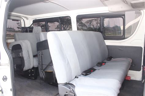 toyota van philippines 15 18 seater toyota hiace commuter urvy van rental and
