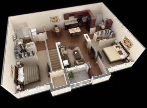 2 Bedroom Apartment Floor Plans Springs Apartment Two Bedroom Plan Interior Design Ideas