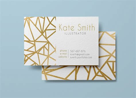 Gold Buisness Card Template by Gold Business Card Template Modern Business Card Design