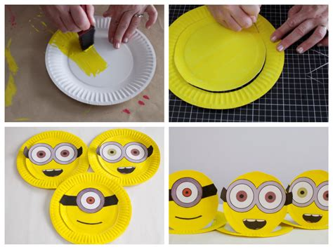 minion diy crafts minion hats craft minion hats minion