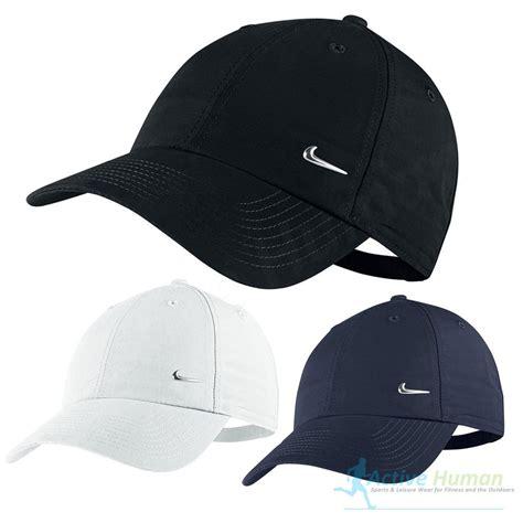 Logo Baseball Hat nike metal swoosh mens sports peak cap baseball hat logo