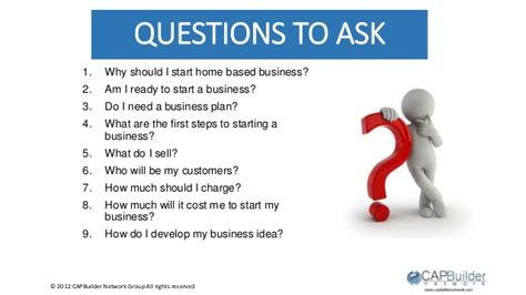 Questions To Ask On Mba Visit by Yes I Can Develop My Idea And Start A Business
