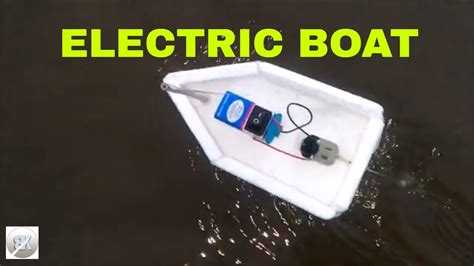how to make electric boat motor how to make electric boat using dc motor how to make