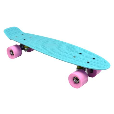 "Bentley 22"" Kids Retro Cruiser Mini Plastic Skateboards"
