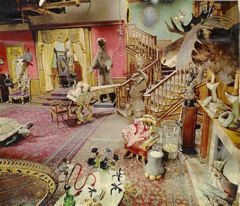 addams family home decor the addams family s living room was actually pink bored