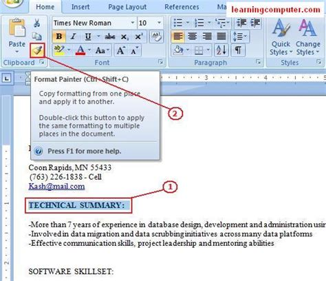 layout tab definition learn microsoft office word 2007 home tab it computer