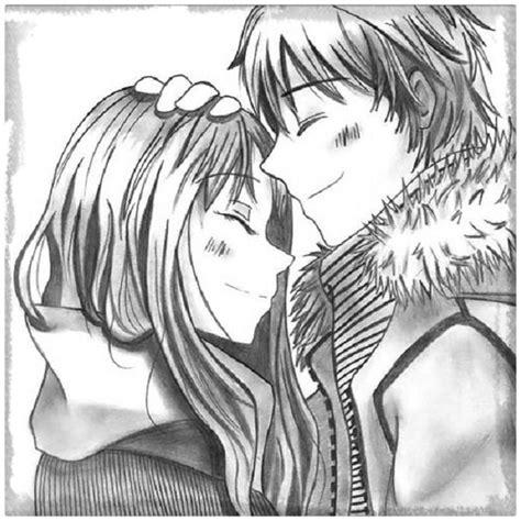 imagenes a lapiz de amor anime dibujos de amor de parejas anime a l 225 piz archivos