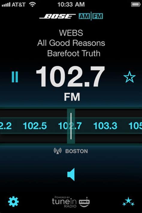 bose releases amfm radio app  iphone iclarified