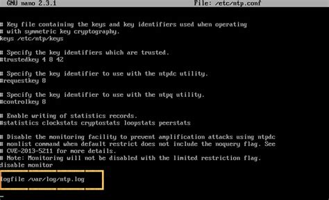 ntp port ntp server network time protocol linux heelpbook