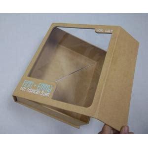 cardboard window boxes pet window box brown kraft paper thick cardboard folding