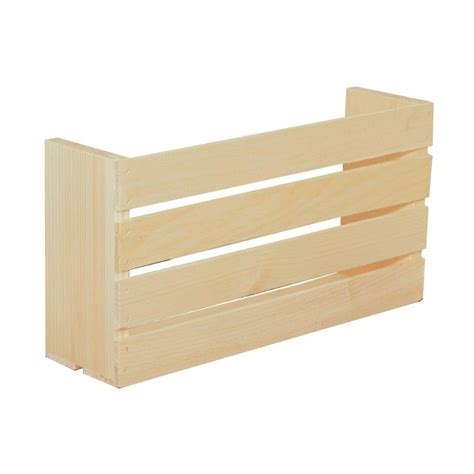wooden crates storage organization the home depot