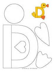 d is for duck d is for duck craft and fingerplay kidssoup