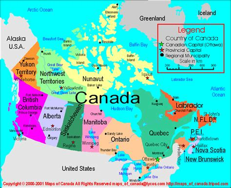 canadian map of provinces and territories map canada provinces capitals