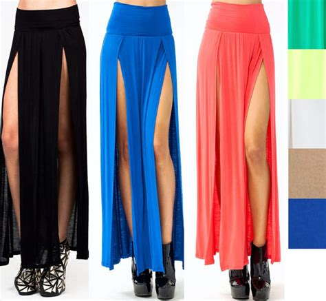 new popular trends high waisted slits
