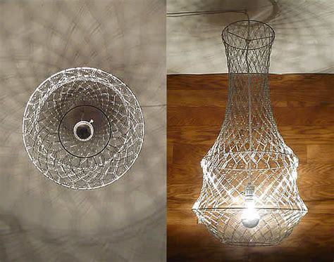 Paperclip Chandelier Paper Clip Chandelier By Re Design Technologies Upcycledzine