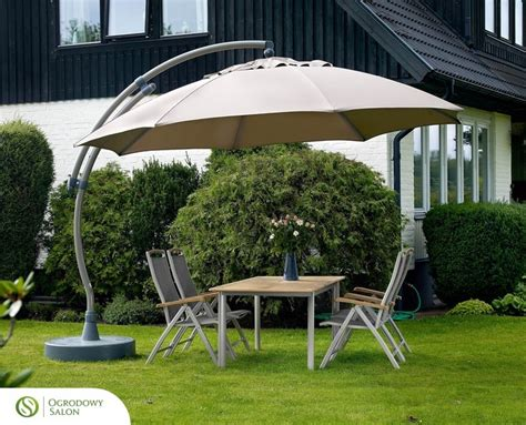 Helicopter Chair Parasol Ogrodowy Easy Sun 375 Cm Parasole Ogrodowe