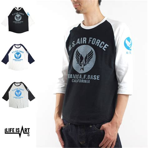 Raglan Standard 3 u s air raglan 3 4sleeve t shirt is standard project スタンダード プロジェクト tシャツ us usaf