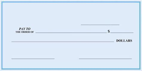 Blank Cheque Template Html Autos Post Free Blank Check Template