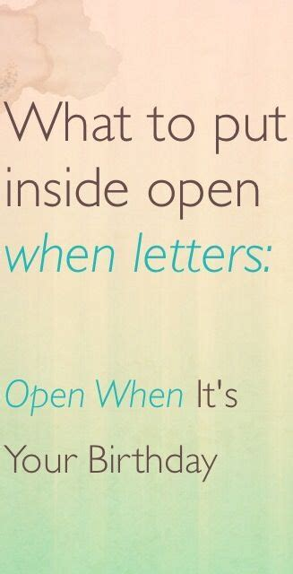 what to write in open when letters 1000 ideas about open when letters on open 1714
