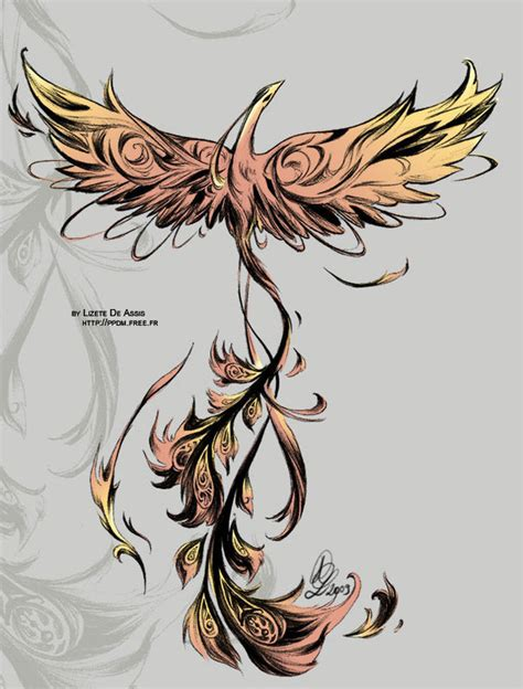 phoenix tattoo little phoenix tattoo by little endian on deviantart