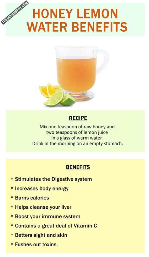 Detox Lemon Water Honey by Best 25 Honey Lemon Water Ideas On Honey