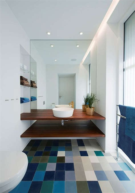 open bathroom shelving bathroom design idea an open shelf below the countertop