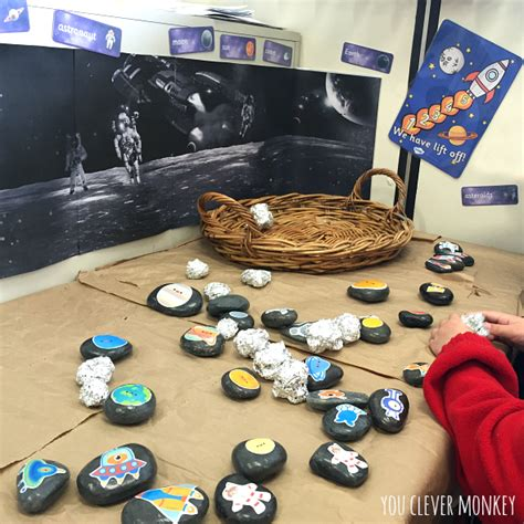 story themes for early years space pretend play play ideas and resources to make