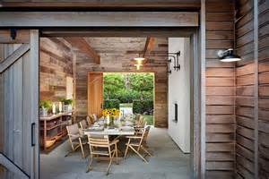 Outdoor Dining Room 25 Diverse Dining Rooms With Sliding Barn Doors