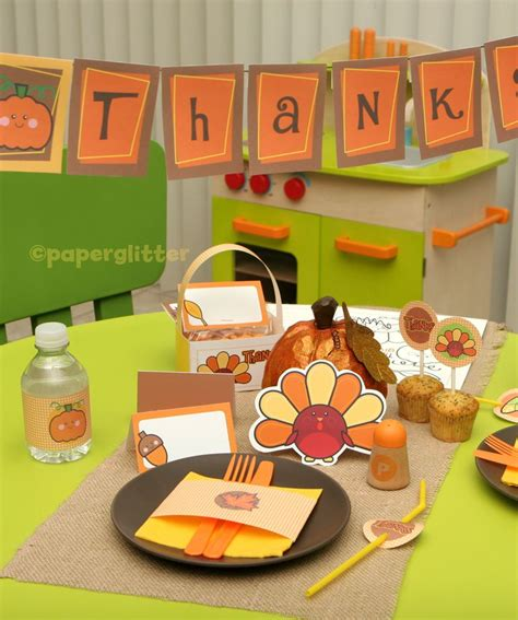 printable thanksgiving turkey decorations free printable thanksgiving table decorations