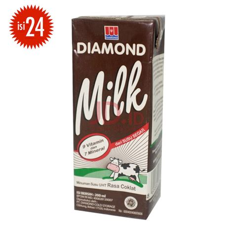 Uht 200 Ml jual milk uht chocolate 200ml x 24pcs jd id