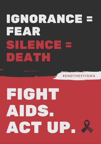 customize  hiv aids poster templates  canva