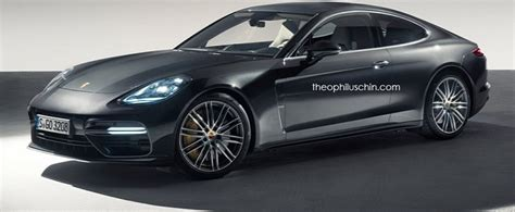 new porsche 928 revealed new porsche panamera coupe rendered as modern day 928