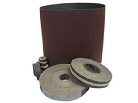 Industrial Abrasive Sanding Belts White Non Loading