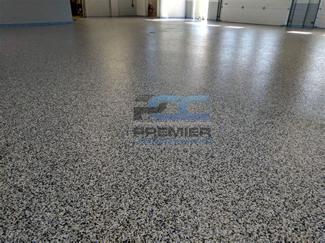 commercial epoxy garage floor columbus ohio epoxy flake