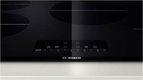 Westinghouse Induction Cooktop Reviews Bosch Nit8066uc 31 Inch Induction Cooktop With 4 Heating