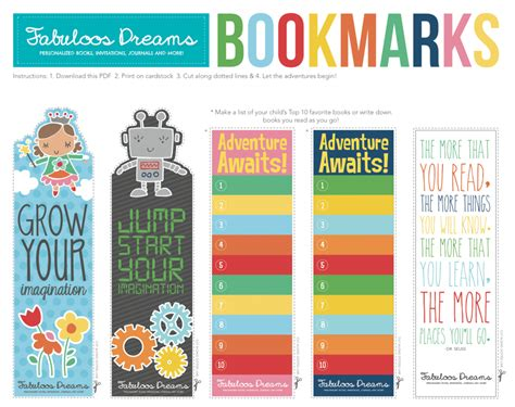 printable good reader bookmarks 7 best images of printable kids bookmarks kids free