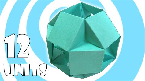 Modular Origami Units - modular origami tutorial 12 units tomoko fuse