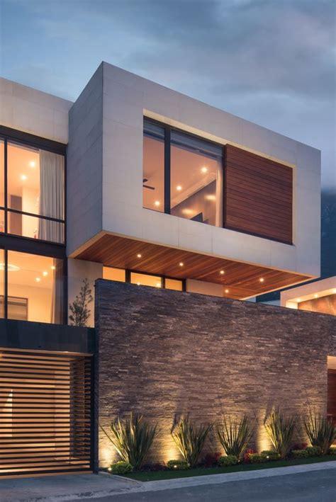 Superior  Decoracion De Cocheras Modernas #3: Fachadas-de-casas-modernas-de-dos-pisos-4.jpg