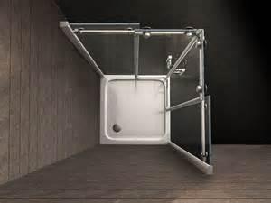 schiebetür dusche duschkabine tela 90 x 90 x 200 cm inkl duschtasse