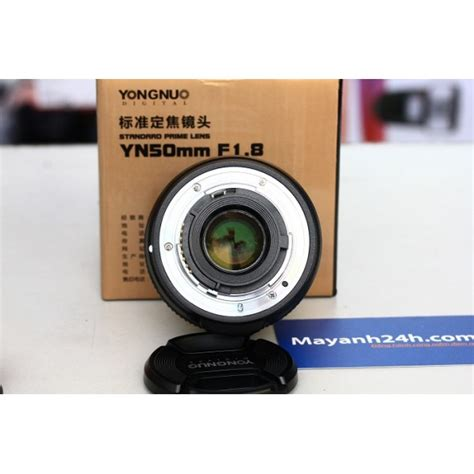 Yongnuo Af S 50mm 1 8 For Nikon Code 0034 yongnuo yn af s 50mm f 1 8 for nikon mayanh24h