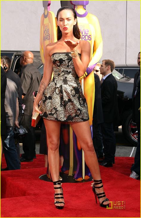 Versace Dress On Megan Fox In A Poster by Grecian Fashion Cookie Jar