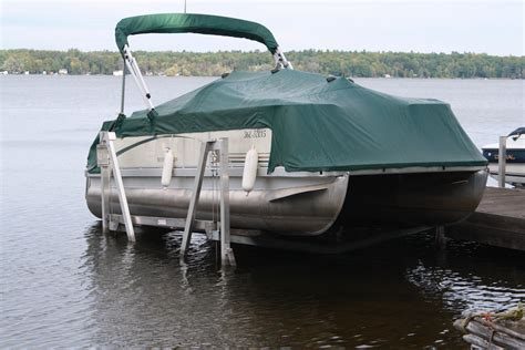 pontoon lift vertical boat lifts pontoon boat lifts r j machine
