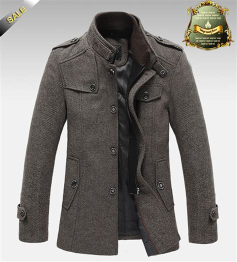 coats for winter top quality jackets for overcoat autumn and winter jacket splice wool warm coat