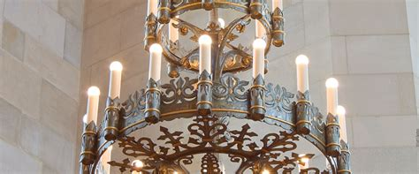 William W Cook Law Library Reading Room Crenshaw Lighting Michigan Chandelier